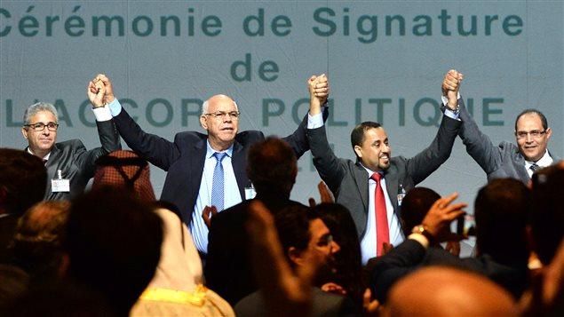 Libye: l'accord de réconciliation signé au Maroc accueilli avec soulagement