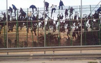 Maroc : nouvel assaut de migrants clandestins à Ceuta