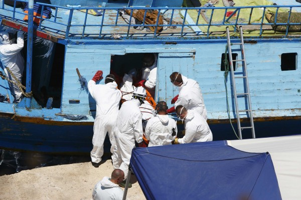 Environ 600 migrants interceptés par les gardes-côtes libyens