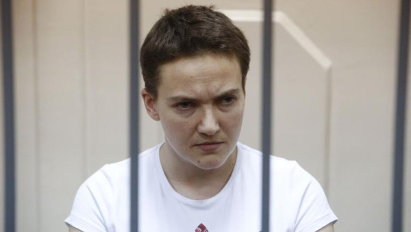Russie : La militaire ukrainienne Nadia Savtchenko en grève de la faim
