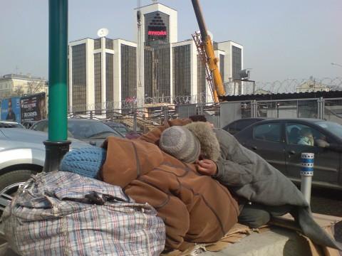 La pauvreté en Russie fait un bond en avant