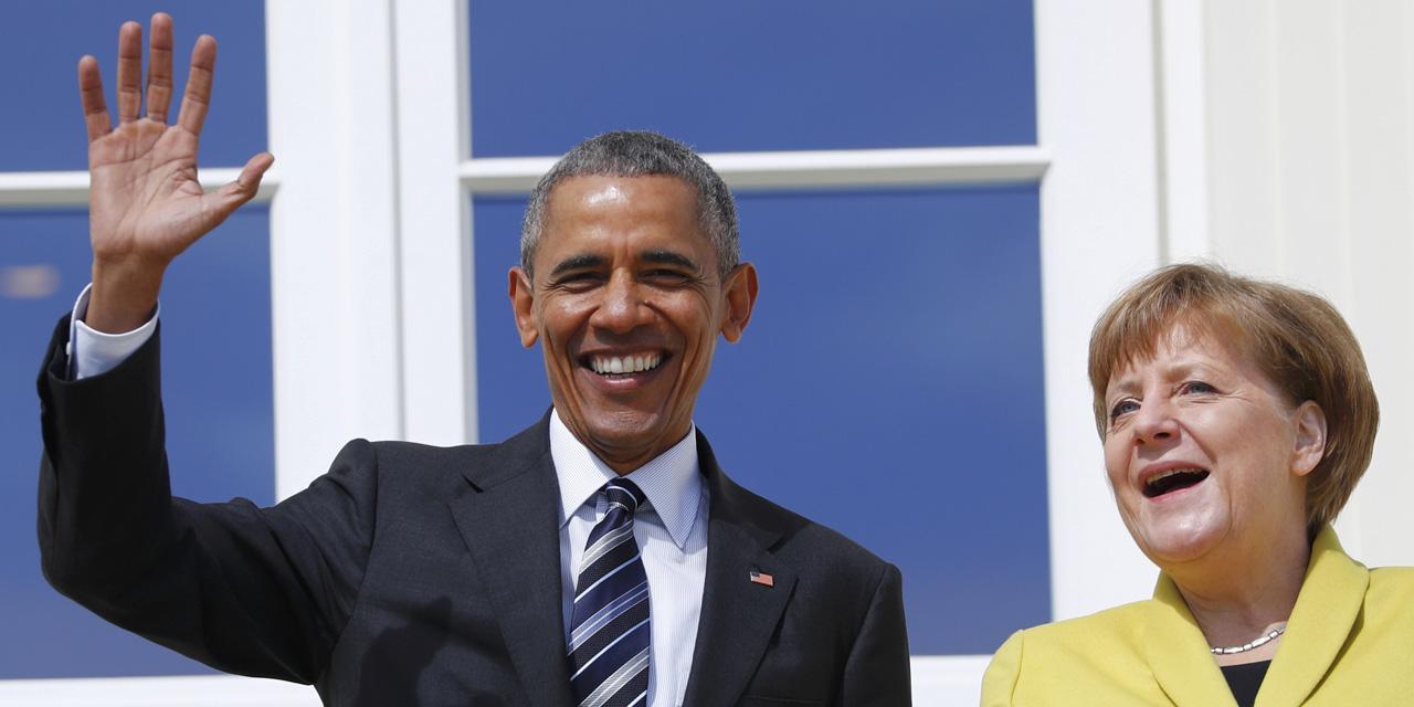 Allemagne : la visite du président américain axée sur le libre-échange