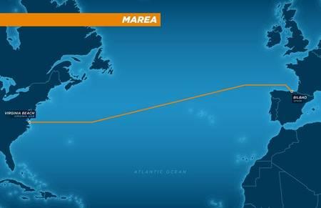 Microsoft et Facebook à l'origine d'un câble sous-marin de transfert de données entre les USA et l'Espagne
