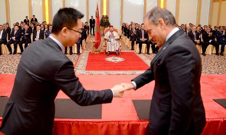 Le Roi Mohammed VI impulse la coopération du Maroc avec la Chine