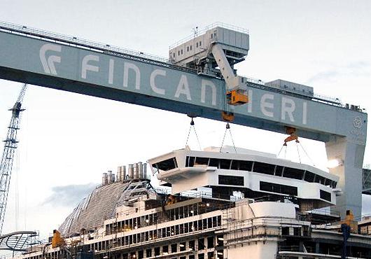 Le groupe naval italien Fincantieri signe un gros contrat avec le Qatar