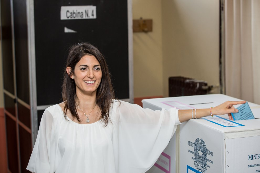 Italie : Virginia Raggi élue maire de Rome