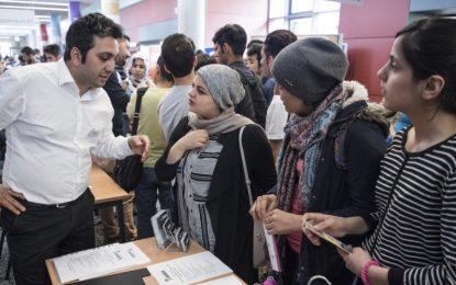 Des dizaines de milliers d'emplois s'offrent réfugiés établis en Allemagne