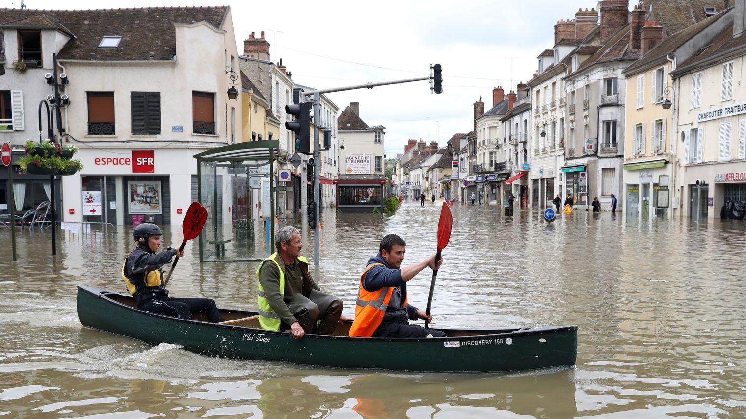 La situation en France s'améliore après les récentes inondations