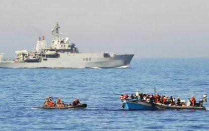 Libye : l'Union Européenne élargit le champ d'action de l'opération navale Sophia