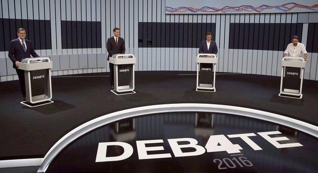 Espagne: Mariano Rajoy pris à parti par les autres candidats à la présidence du gouvernement