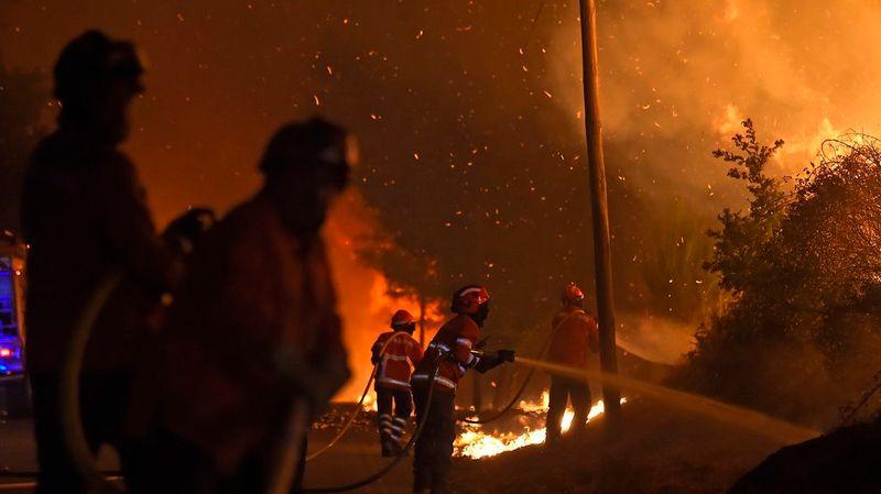 Les incendies de forêt font des ravages au Portugal