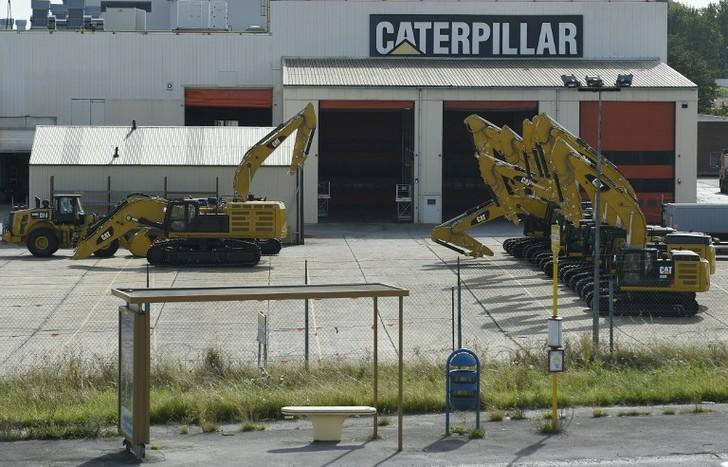 Caterpillar ferme son usine de Charleroi en Belgique