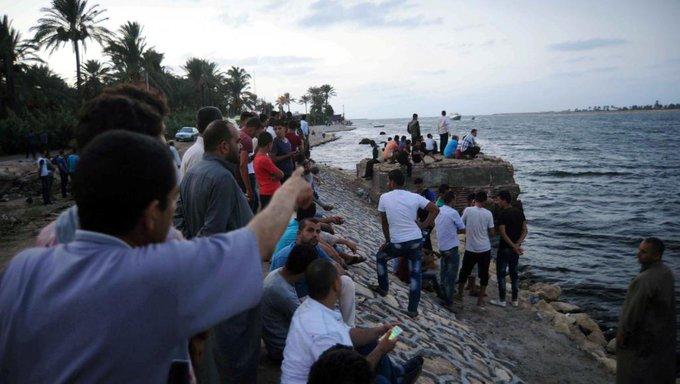 Une quarantaine de migrants morts dans un naufrage au large de l'Egypte
