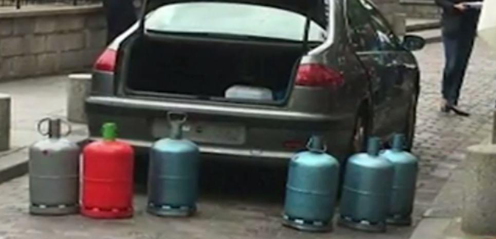 France- Bonbonnes de gaz: Trois jeunes femmes interpelées
