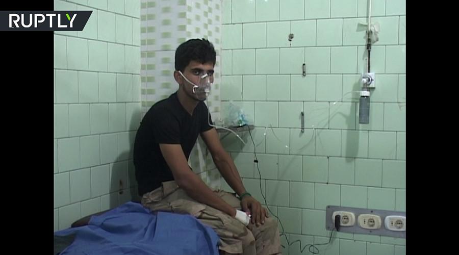 Damas accuse les rebelles d'avoir utilisé du gaz toxique à Alep