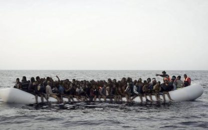 Une quinzaine de migrants portés disparus au large de la Libye