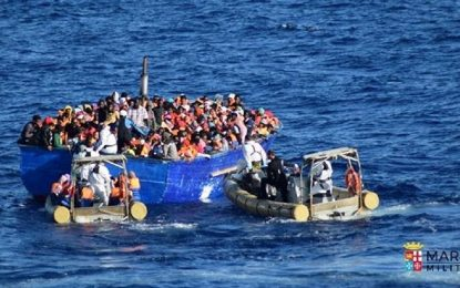 Libye : 8 500 migrants secourus en une semaine