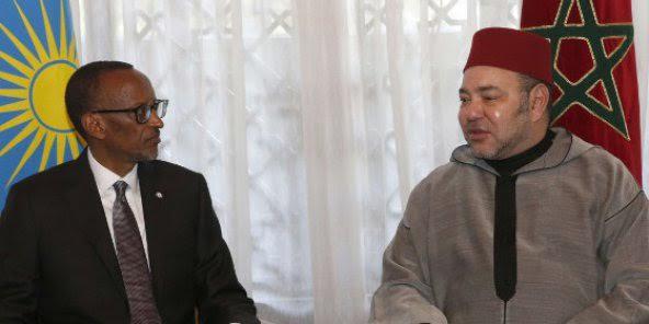 Kigali: Entretiens entre Paul Kagamé et le roi Mohamed VI du Maroc