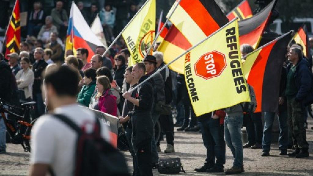 Allemagne : Pegida célèbre son deuxième anniversaire