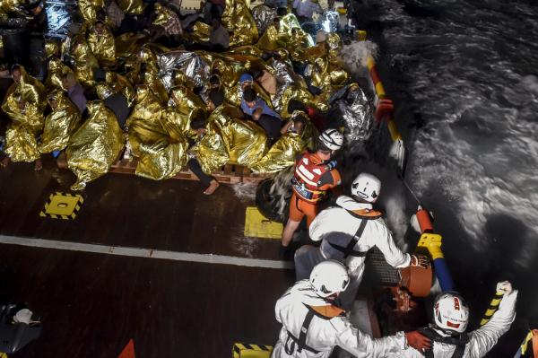 Libye : 115 migrants secourus au large de Tripoli