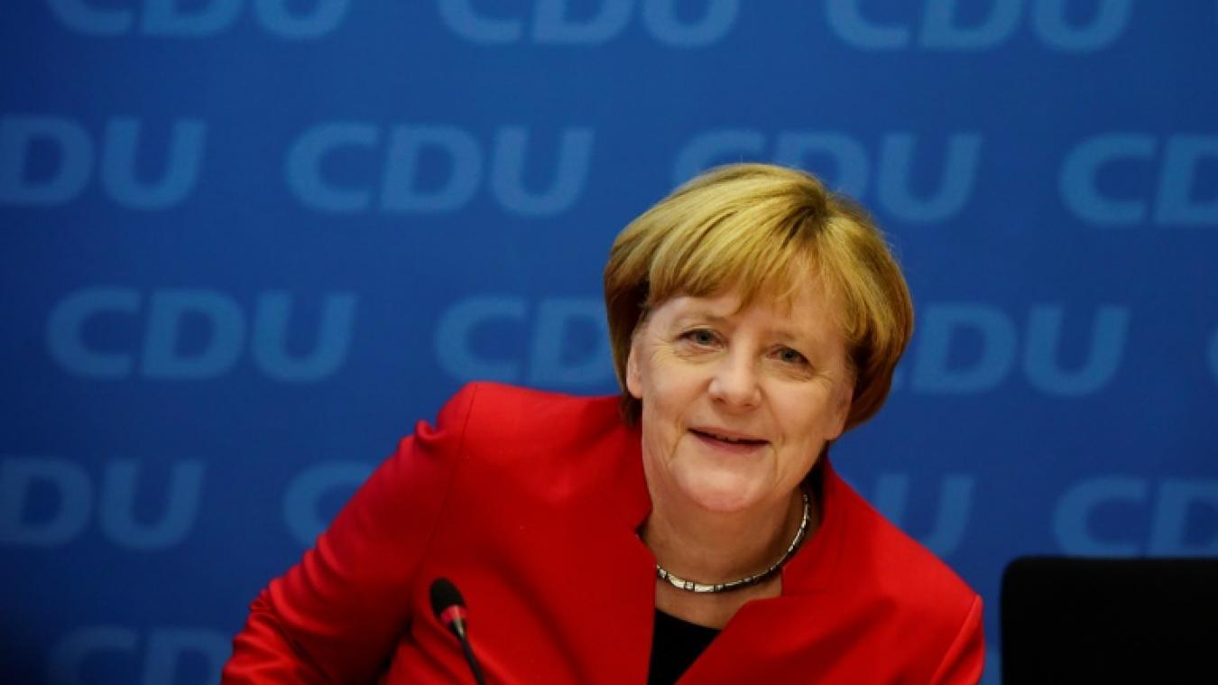 Merkel veut rempiler à la tête de l'Allemagne