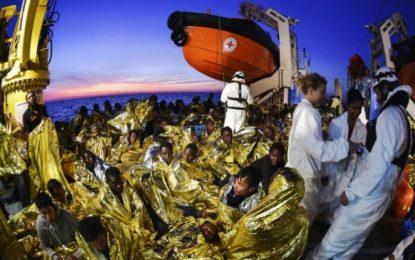 Près de 1.400 migrants secourus au large des côtes libyennes