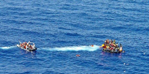 Les gardes-côtes italiens secourent une dizaine d'embarcations en Méditerranée