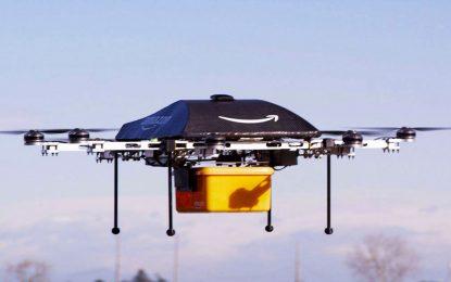 Grande-Bretagne : première livraison par drone d'Amazon