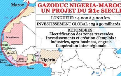 Le Maroc et le Nigeria s'activent à concrétiser leur projet commun de gazoduc nord-ouest africain