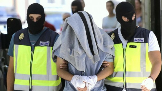Arrestation à Madrid de deux terroristes présumés