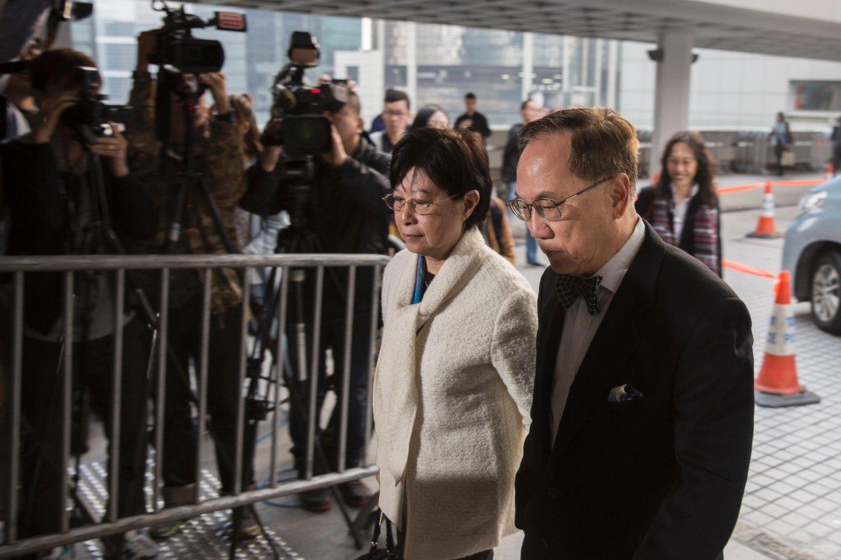 Hong Kong : Ouverture du procès pour corruption de l'ancien chef de l'exécutif