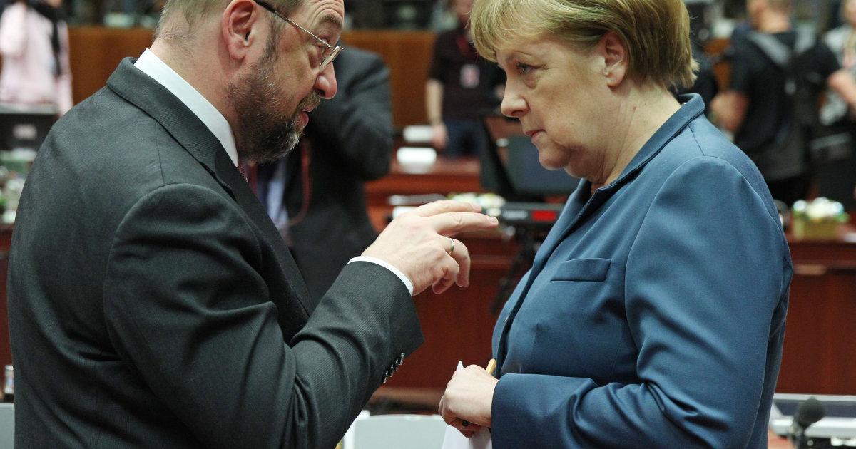 La bataille des législatives en Allemagne se jouera entre Schulz et Merkel