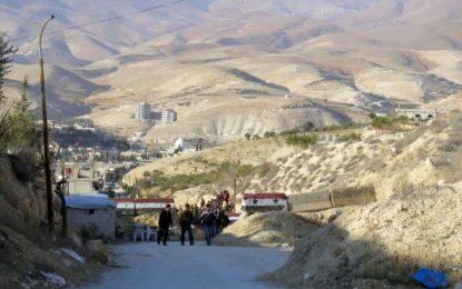 L'armée syrienne reprend Wadi Barada