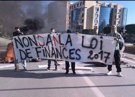 La nouvelle loi de finances en Algérie violemment contestée