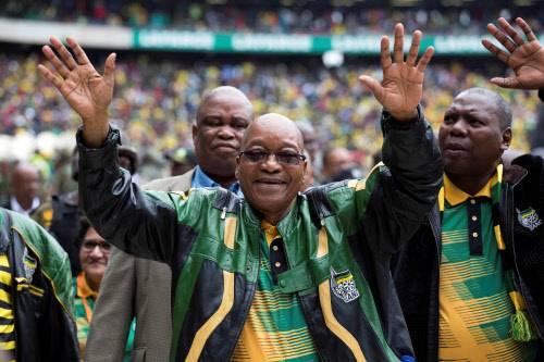 Afrique du Sud : l'ANC fête ses 105 ans