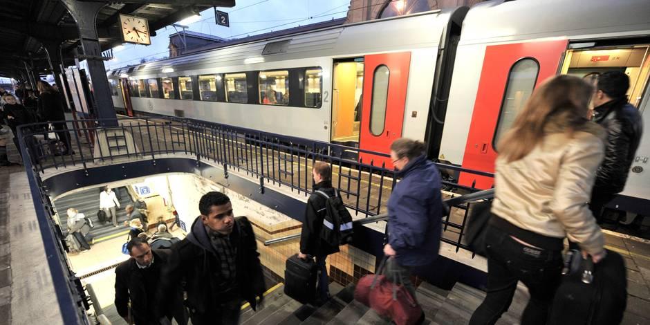 Les fonctionnaires belges voyageront désormais en seconde classe dans les trains