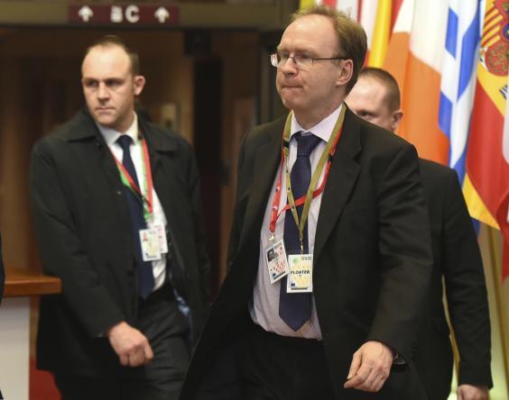 L'ambassadeur du Royaume-Uni auprès de l'UE jette l'éponge