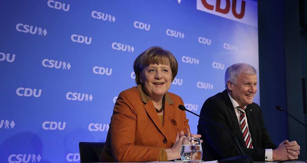 Allemagne : La CDU et la CSU font front commun contre la SPD