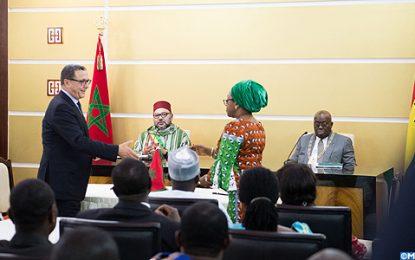 Visite du Roi du Maroc au Ghana: 25 accords bilatéraux signés