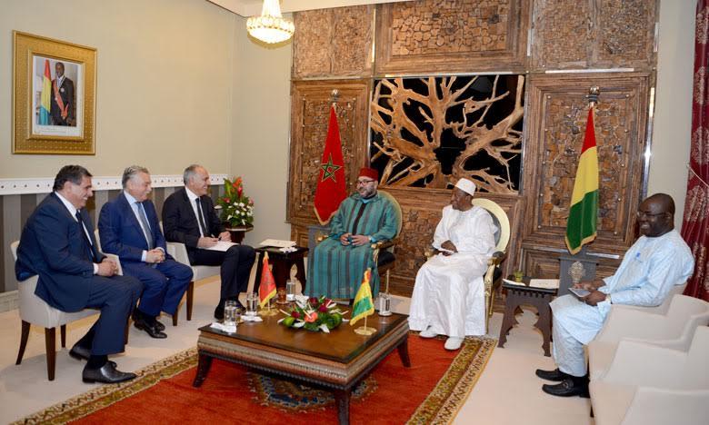 Mohammed VI en visite à Conakry, troisième étape de sa nouvelle tournée africaine