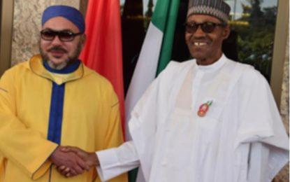 Mohammed VI et le président Buhari discutent du projet de gazoduc Maroc- Nigeria