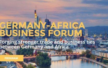 Ouverture à Berlin du premier forum économique Afrique-Allemagne