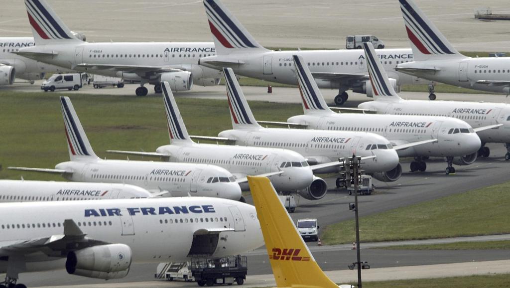 Mouvement de grève chez Air France