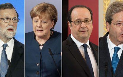 Mini-sommet à Versailles pour relancer le projet européen