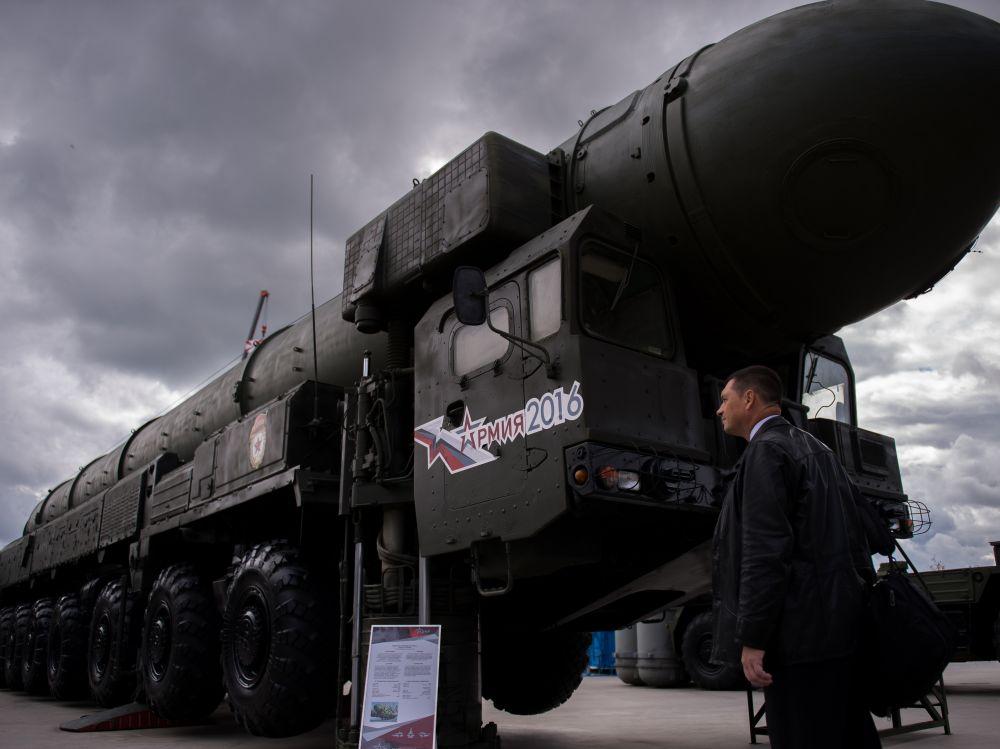 guerre froide : déploiement par la Russie de missiles visant l'Europe occidentale