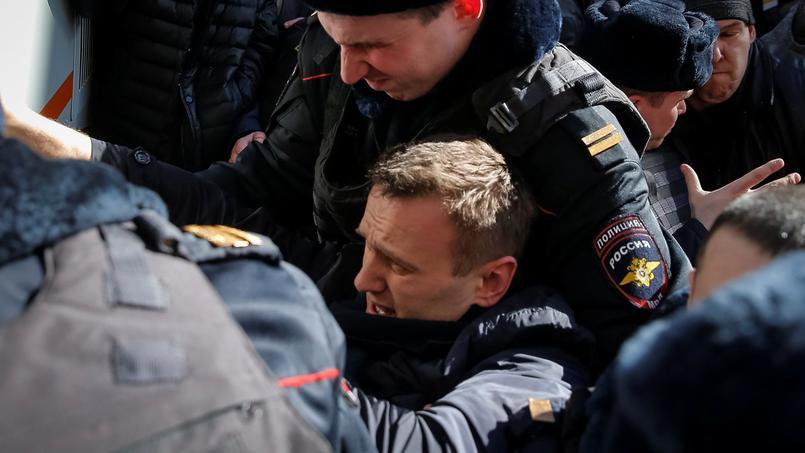 Russie : Des centaines d'arrestations parmi les manifestants contre la corruption