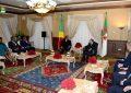 Fin de la visite du président congolais Denis Sassou-Nguesso en  Algérie