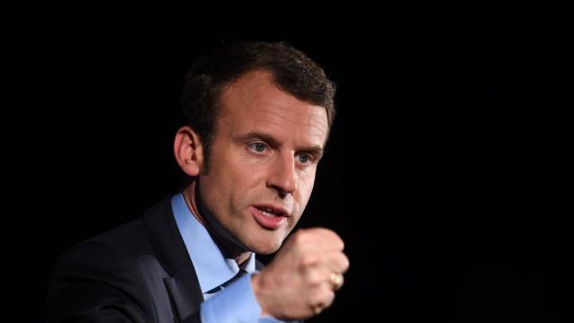 Le candidat Emmanuel Macron veut revoir les relations de la France avec le Qatar