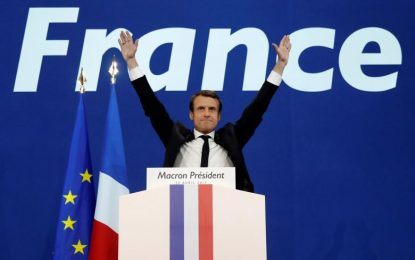 France-Présidentielle : Satisfecit de dirigeants allemands pour l'élection de Macron au 1er tour