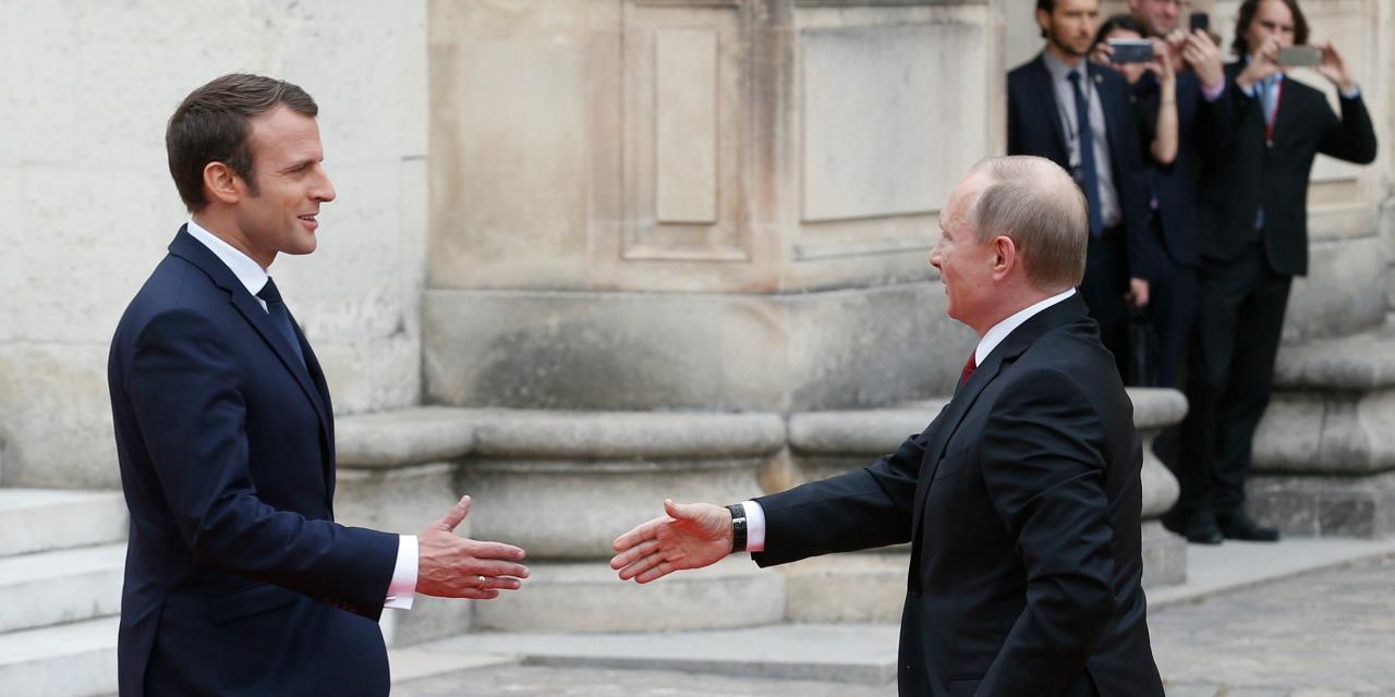 Malgré leurs désaccords, Poutine et Macron veulent avancer ensemble